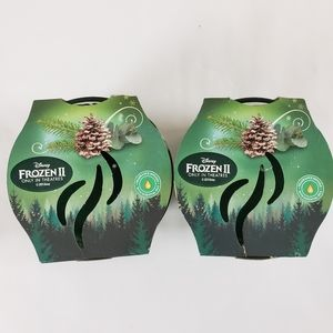 2 Glade Limited Edition Frozen 2 Evergreen Candles